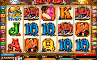 Riviera Riches Providing Jackpot As Rewards