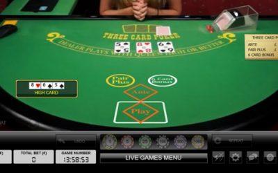 Win Live Dealer Hold'em Bonuses